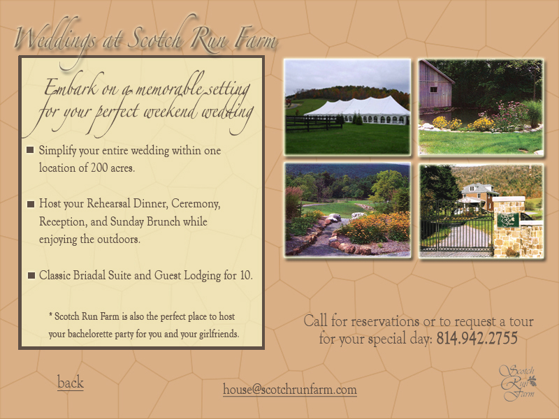 Scotch Run Farm - Ceremony Sites - Scotch Valley Rd, Hollidaysburg, PA, 16648, US