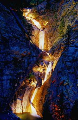 Sevenfalls - Attractions/Entertainment, Parks/Recreation - 2850 N Cheyenne Canyon Rd, Colorado Springs, CO, 80906