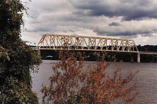 Jennings Randolph Bridge - Attractions/Entertainment - WV/OH, USA