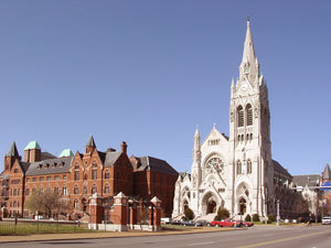St. Fraicis Xavier College Church - Ceremony Sites, Reception Sites - 3628 Lindell Blvd, St Louis, MO, 63108, US