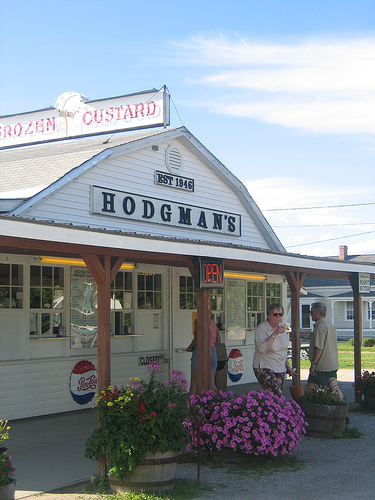 Hodgman's Frozen Custard - Restaurants - 1108 Lewiston Rd, New Gloucester, ME, United States