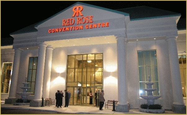 Red Rose Convention Centre - Reception Sites, Ceremony Sites - 1233 Derry Rd E, Mississauga, ON