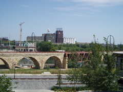Stone Rrch bridge and walking path - Parks and Recreation -