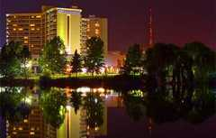 Double Tree Hotel  - Hotel - 322 N Spokane Falls Ct, Spokane, WA, 99202