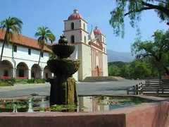 Santa Barbara Mission  - Attractions - Mission, Santa Barbara, CA, CA, US