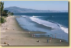 East Beach - Beaches - East Beach, Santa Barbara, CA, Santa Barbara, California, US