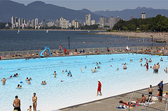 Kitsilano Beach Pool - Beaches, Attractions/Entertainment - 1299 Arbutus St, Vancouver, BC, Canada
