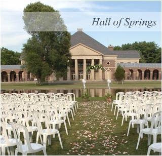 Wedding Ceremony & Reception @ Hall Of Springs - Reception Sites, Ceremony & Reception - 108 Avenue of the Pines, Saratoga Springs, NY, United States