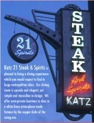 Katz 21 Steaks And Spirits - Attractions/Entertainment - 317 Mesquite St, Corpus Christi, TX, 78401, US