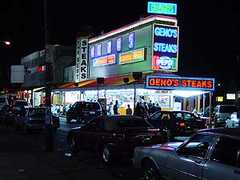 Geno's Steaks - Restaurant - 1219 S 9th St, Philadelphia, PA, 19147, US