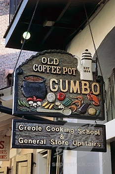 The Old Coffee Pot Restaurant ($$) - Restaurants, Attractions/Entertainment, Coffee/Quick Bites - 714 Saint Peter Street, New Orleans, LA, United States