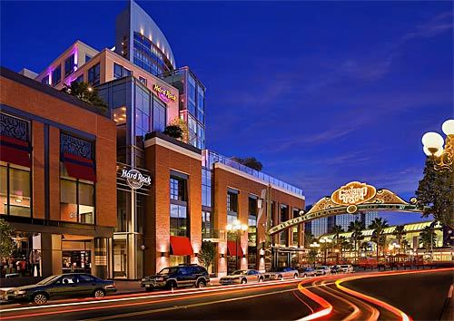 Hard Rock Hotel - Bars/Nightife, Attractions/Entertainment, Hotels/Accommodations, Restaurants - 207 5th Ave, San Diego, CA, 92101