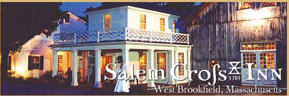 Salem Cross Inn - Ceremony Sites, Reception Sites, Restaurants - 260 W Main St, West Brookfield, MA, 01585, US