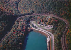 Horseshoe Curve National Historic Landmark - Attraction - Kittanning Point Rd, Altoona, PA, 16601, US