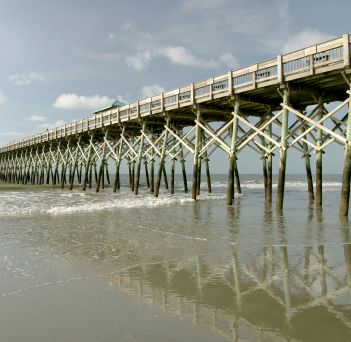 Folly Beach - Restaurants, Attractions/Entertainment - W Arctic Ave, Charleston, SC, 29412, US
