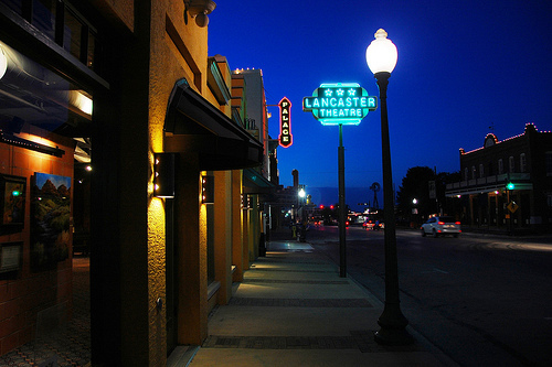Main Street Grapevine, Texas - Shopping -