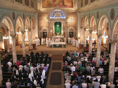 Monastery Church of the Sacred Heart - Ceremony - 110 Shonnard Pl, Yonkers, NY, 10703