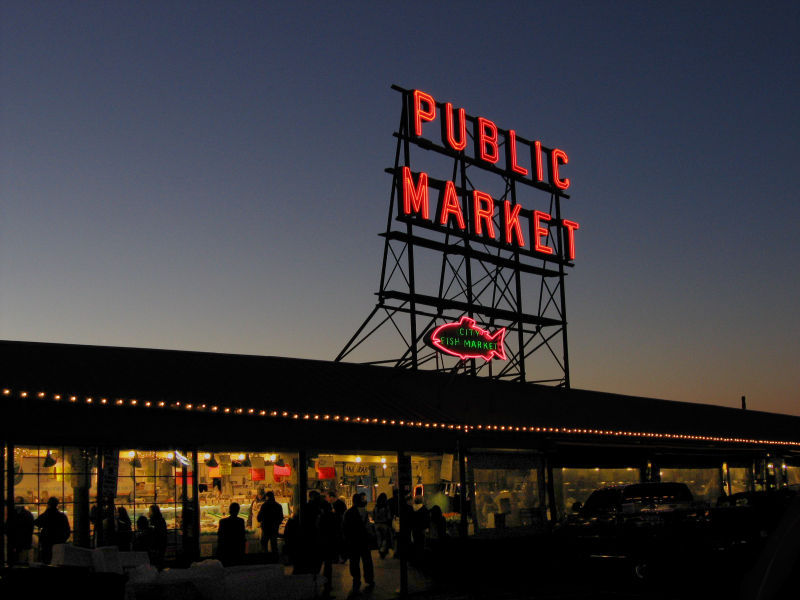 Pike Place Market - Attractions/Entertainment, Shopping - 86 Pike St, Seattle, WA, United States