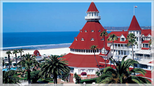 The Hotel Del Coronado - Hotels/Accommodations, Ceremony Sites, Attractions/Entertainment, Ceremony & Reception - 1500 Orange Ave., Coronado, CA, 92118, USA