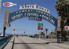 Santa Monica Pier - Tourism spots - Santa Monica Pier, Santa Monica, CA
