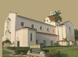 Church Of The Little Flower - Ceremony Sites, Reception Sites, Attractions/Entertainment - 2711 Indian Mound Trail, Miami-Dade County, FL, 33134