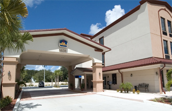 Best Western Gateway Inn - Hotels/Accommodations - 6638 4th Street North, Saint Petersburg, FL, 33702, United States