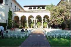 Pasadena Wedding In July