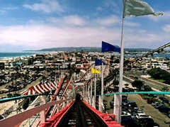 Giant Dipper Roller Coaster - Attractions/Beaches - 3190 Mission Boulevard, San Diego, CA, United States