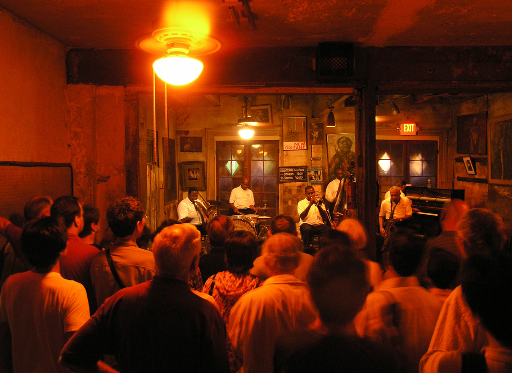 Preservation Hall - Attractions/Entertainment, Bars/Nightife - 726 St Peter St, New Orleans, LA, 70116, US