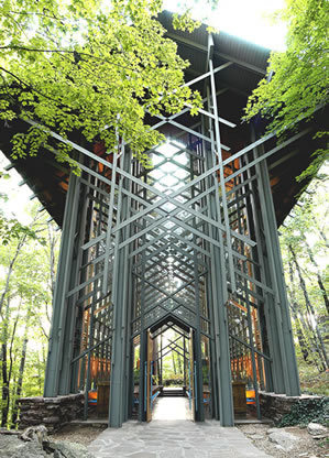 Thorncrown Chapel - Ceremony Sites - 12968 Highway 62 W, Eureka Springs, AR, 77388, United States