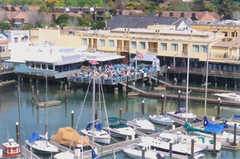 Sam's Anchor Cafe - Restaurant - 27 Main St, Tiburon, CA, 94920