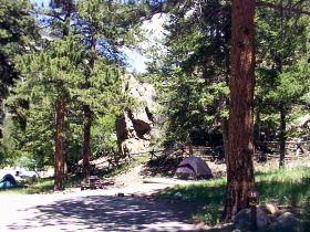 Aspenglen Campground In Rmnp - Campsites -