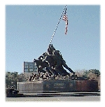 Marine Corps War Memorial - Attraction - Arlington, Virginia, United States
