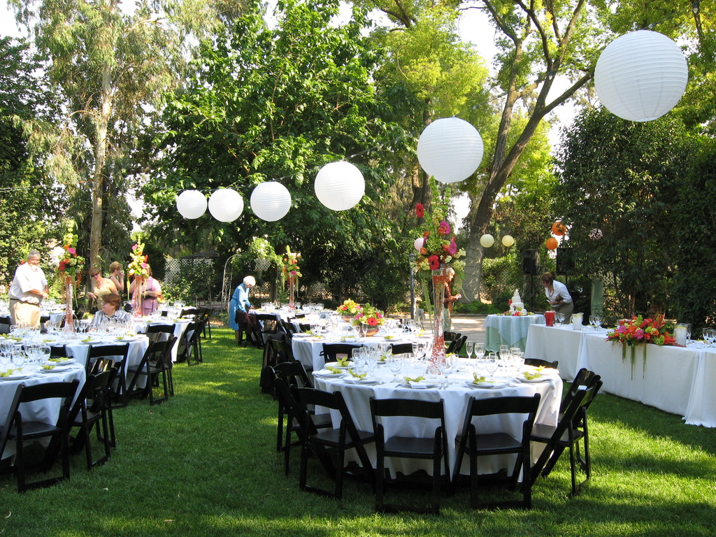 Reception sites ripon ca wedding mapper for Boda en jardin como vestir
