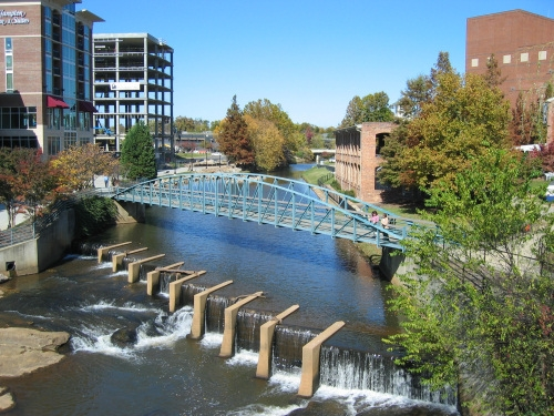 Falls Park On The Reedy - Attractions/Entertainment, Parks/Recreation, Restaurants - 601 S Main St, Greenville, SC, United States