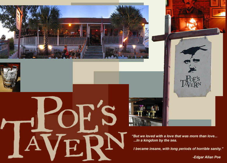 Poe's Tavern - Restaurants, Bars/Nightife, Attractions/Entertainment - 2210 Middle St, Sullivans Island, SC, United States