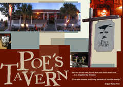Poe's Tavern - Casual Dining  - 2210 Middle St, Sullivans Island, SC, United States