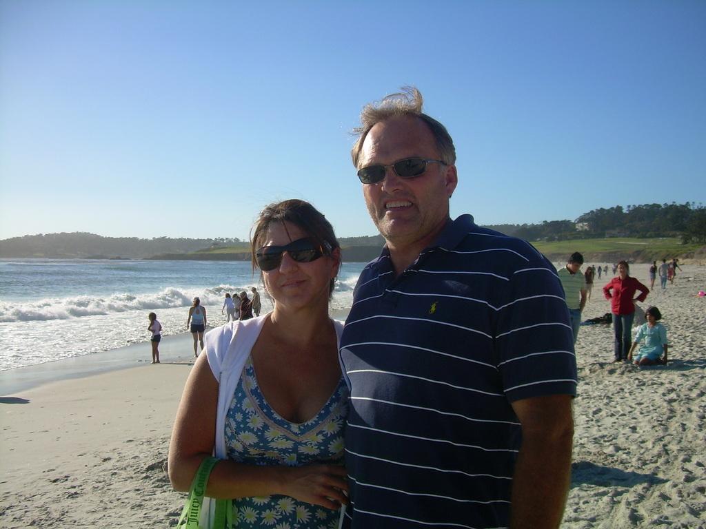 Carmel Beach - Beaches - Carmel Beach, Carmel, CA