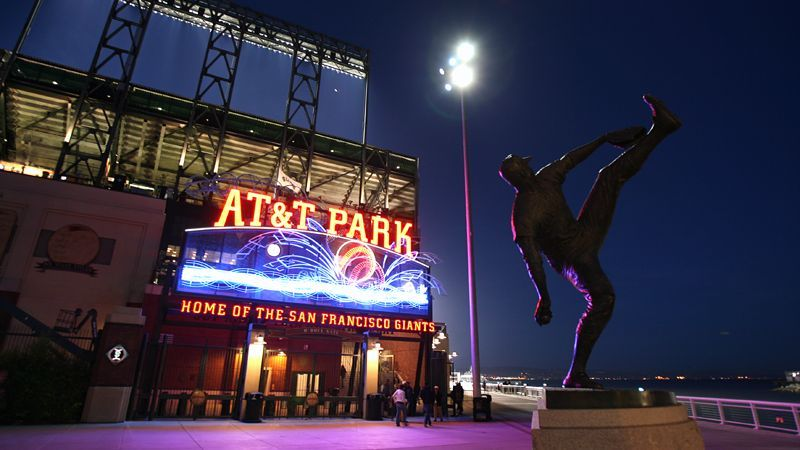 At&t Park - Attractions/Entertainment, Reception Sites - 24 Willie Mays Plz, San Francisco, CA, United States
