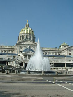 Pa State Capitol - Attractions/Entertainment - Capitol Complex East Wing, Harrisburg, PA, United States