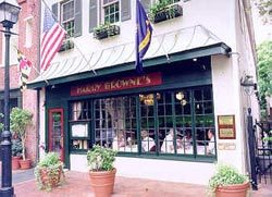 Harry Browne's - Restaurants, After Party Sites, Reception Sites, Attractions/Entertainment - 66 State Cir, Annapolis, MD, 21401
