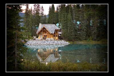 Emerald Lake Lodge - Reception Sites -