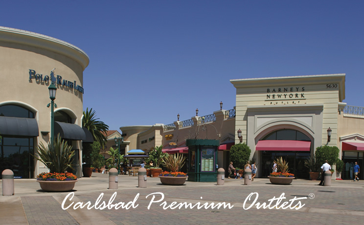 Carlsbad Premium Outlets - Shopping, Attractions/Entertainment - 5620 Paseo Del Norte #100, Carlsbad, CA, 92008