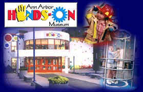 Ann Arbor Hands-on Museum - Attractions/Entertainment, Reception Sites - 220 E Ann St, Ann Arbor, MI, 48104