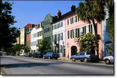 Rainbow Row - Attraction - 83-107 E Bay St, Charleston, South Carolina, US