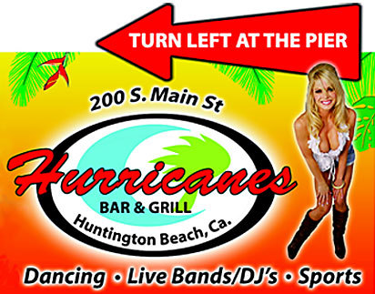 Hurricanes Bar And Restaurant - Bars/Nightife - 200 Main Street, Huntington Beach, CA, 92648