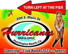 Hurricanes Bar and Restaurant - Happy Hour  - 200 Main Street, Huntington Beach, CA, 92648