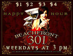 BeachFront 301 - Happy Hour  -
