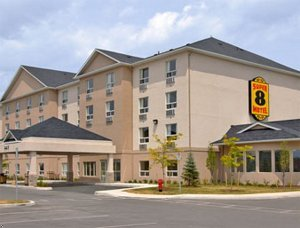 Super 8 Motel - Hotels/Accommodations, Reception Sites - 441 Bryne Drive, Barrie, ON, Canada