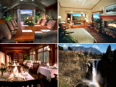 Salish Lodge Dining Room - Attractions/Entertainment, Reception Sites, Ceremony Sites - 6501 Railroad Ave Se, Snoqualmie Pass, WA, United States
